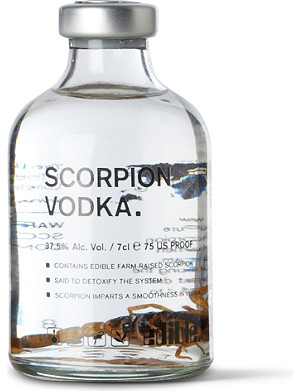 EDIBLE Scorpion vodka 70ml