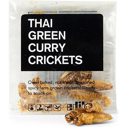 EDIBLE Thai green curry crickets 1.4g