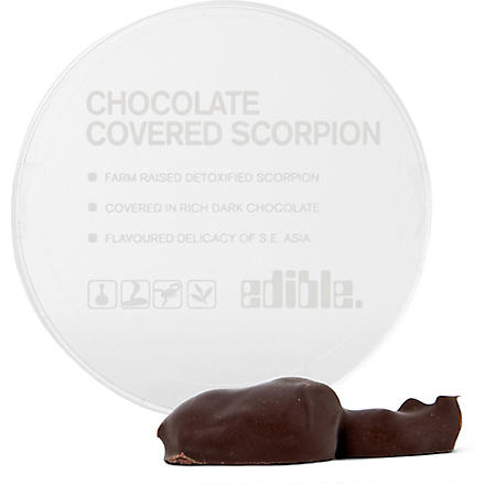 EDIBLE Dark chocolate scorpion 4.5g