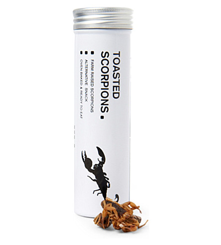 EDIBLE Toasted scorpions