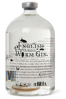 EDIBLE English Garden Worm gin 250ml