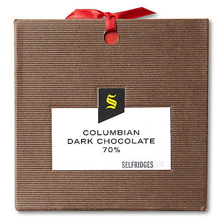 SELFRIDGES SELECTION Columbian dark chocolate 90g