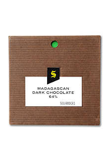 SELFRIDGES SELECTION Madagascan dark chocolate bar 90g