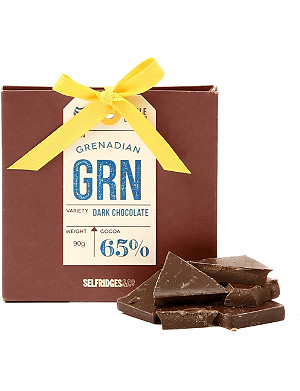 SELFRIDGES SELECTION Single Origin Grenadan Dark Chocolate 90g
