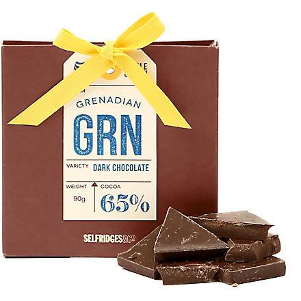SELFRIDGES SELECTION Single Origin Grenadan Dark Chocolate 90g
