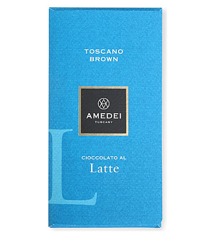 AMEDEI Toscano Brown milk chocolate bar 50g