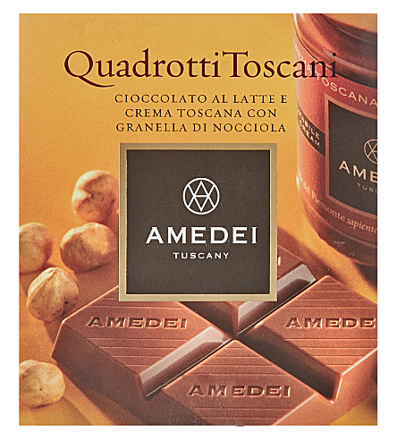 AMEDEI Crema Toscana milk chocolate bar 45g