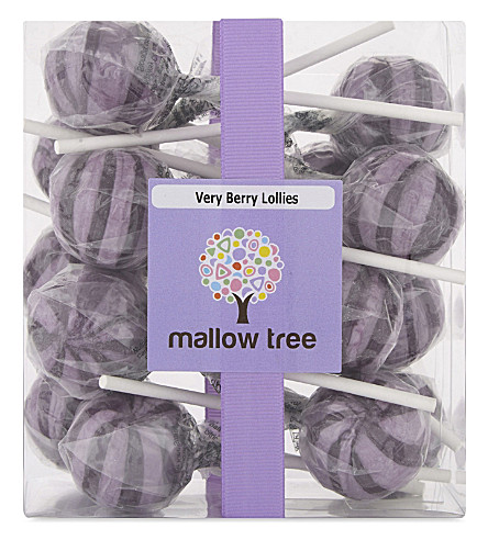 MALLOW TREE Very Berry lollies 375g