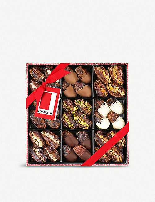 FARHI Chocolate medjool dates selection 720g