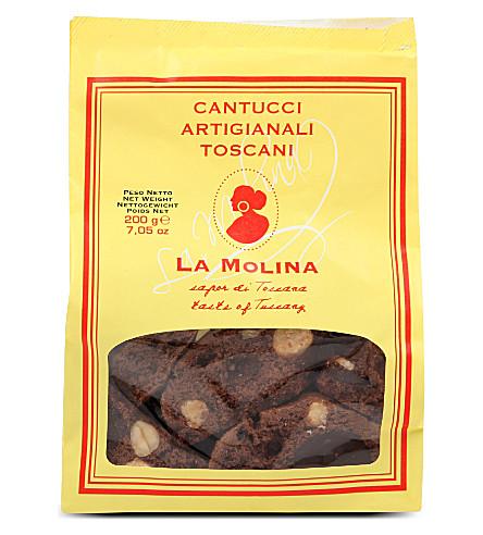 LA MOLINA Chocolate hazelnut cookies 200g