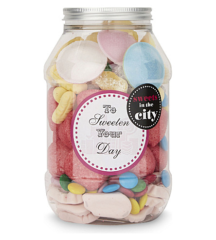 SWEETS IN THE CITY To Sweeten Your Day Jar of Joy 405g