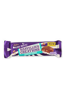 CADBURY Marvellous Creations milk chocolate cookie nut crunch 47g