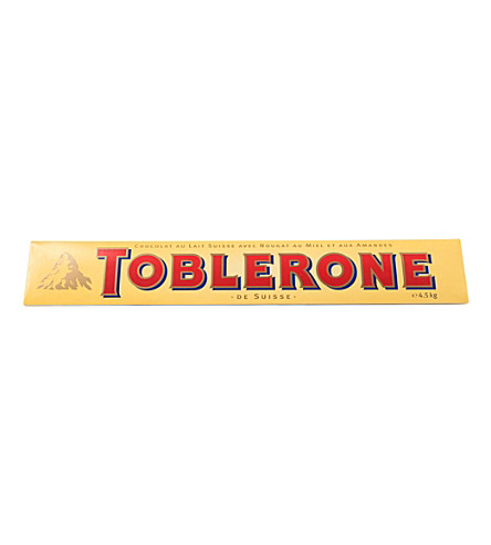 TOBLERONE Giant Toblerone milk chocolate 4.5kg