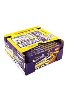 CADBURY Banana Caramel Crisp chocolate bar case