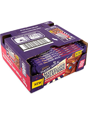 CADBURY Jelly Popping Candy Shells chocolate bar case 14 x 200g