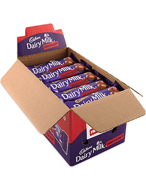 CADBURY Fruit & Nut chocolate bar case 48 x 49g