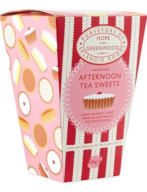 HOPE AND GREENWOOD Afternoon tea sweets box 250g
