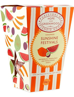 HOPE AND GREENWOOD Fizzy sunshine festivals box 250g