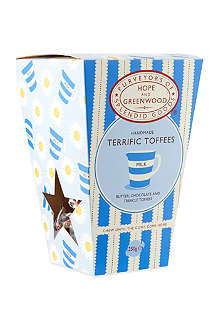 HOPE AND GREENWOOD Terrific toffees box 250g