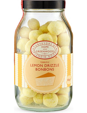 HOPE AND GREENWOOD Ration jar lemon drizzle bonbons 320g