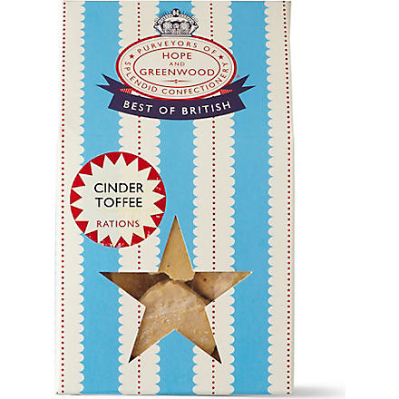 HOPE AND GREENWOOD British Cinder Toffee 200G