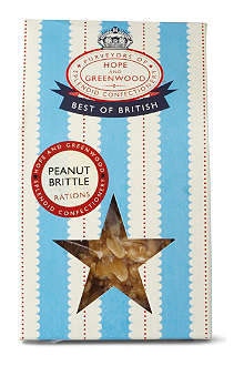HOPE AND GREENWOOD British peanut brittle 200g