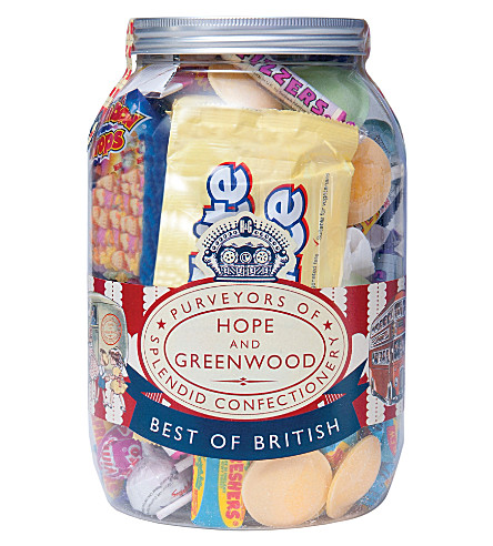 HOPE AND GREENWOOD Sweet Shop ration jar 650g