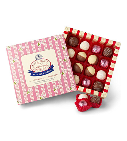 HOPE AND GREENWOOD Champagne truffle selection 200g