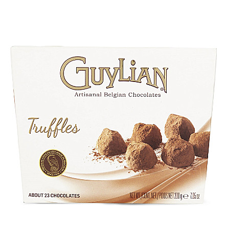 GUYLIAN Cocoa dusted milk chocolate truffles 200g