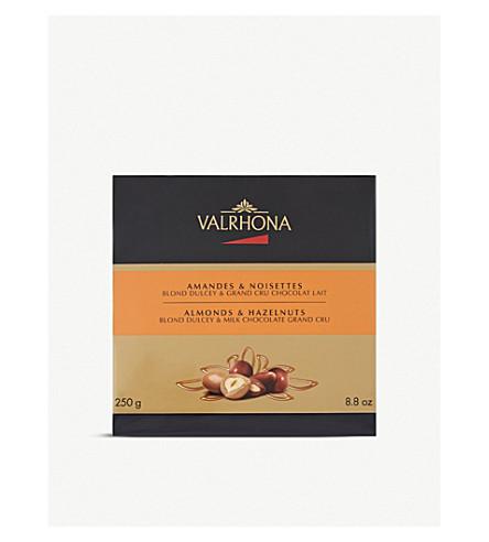 VALRHONA 巧克力杏仁和榛子250g