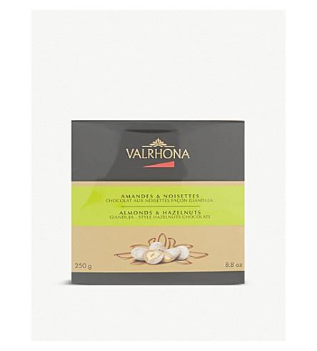 VALRHONA Gianduja style hazelnuet chocolates 250g