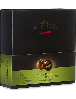 VALRHONA Milk and dark mendiants 85g