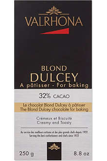 VALRHONA Dulcey cooking chocolate 250g