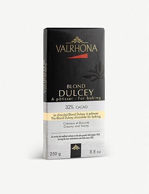 VALRHONA The Blond Dulcey baking chocolate 250g