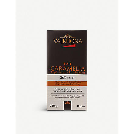 VALRHONA Caramelia cooking chocolate 250g