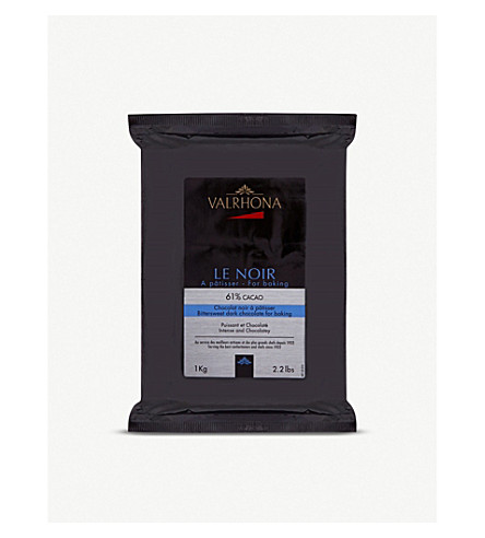 VALRHONA Dark cooking chocolate 1kg
