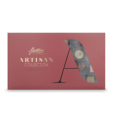 BUTLERS Artisan Collection large chocolate box 310g