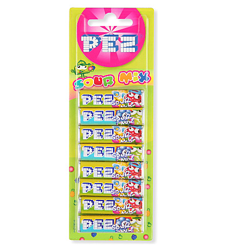 PEZ Pack of eight sour candy refills