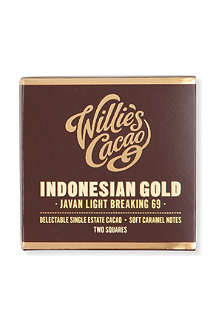 WILLIE'S CACAO Indonesian Gold light breaking chocolate