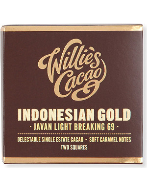 WILLIES Indonesian Gold light breaking chocolate