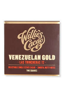 WILLIES Venezuelan 72 hacienda chocolate