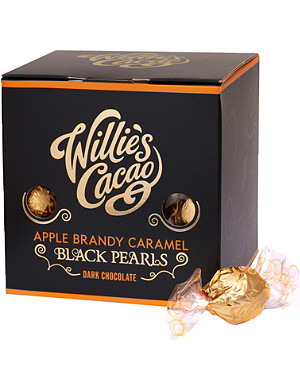 WILLIES Apple brandy chocolate caramel pearls