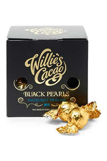 Black Pearls milk chocolate hazelnut praline 150g