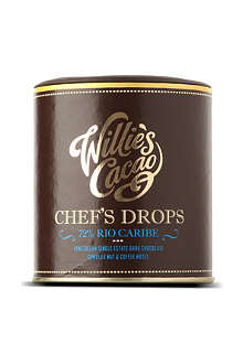 WILLIES Rio caribe 72% chocolate drops