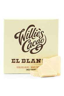 WILLIES El Blanco Venezuelan 00 white chocolate bar 50g
