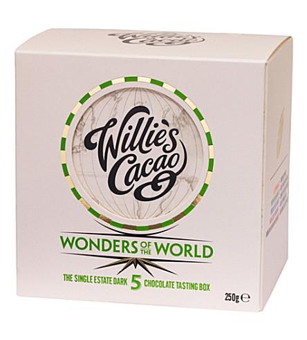 WILLIES Dark Wonders of the World tasting box 250g