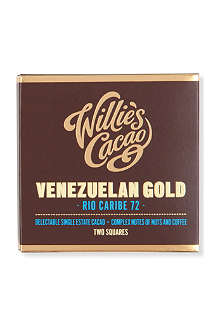 WILLIES Venezuelan Rio Caribe 72 chocolate 80g