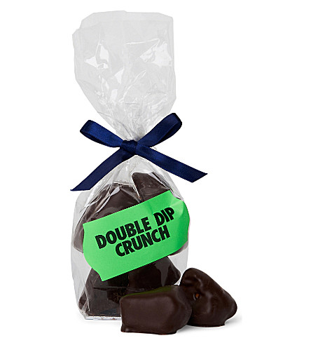 COCOMAYA Dark chocolate double dip crunch