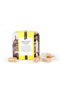 SELFRIDGES SELECTION Fudge tin 100g