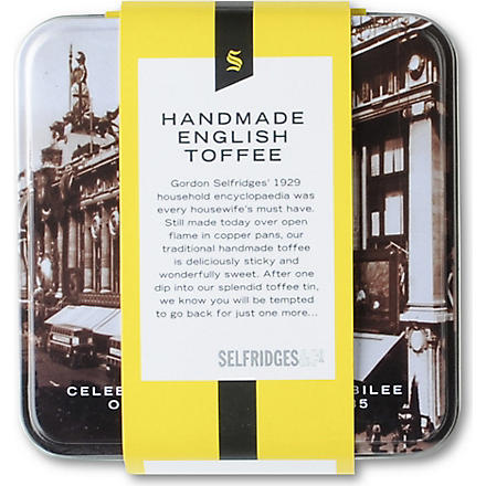 SELFRIDGES SELECTION Selfridges toffee tin
